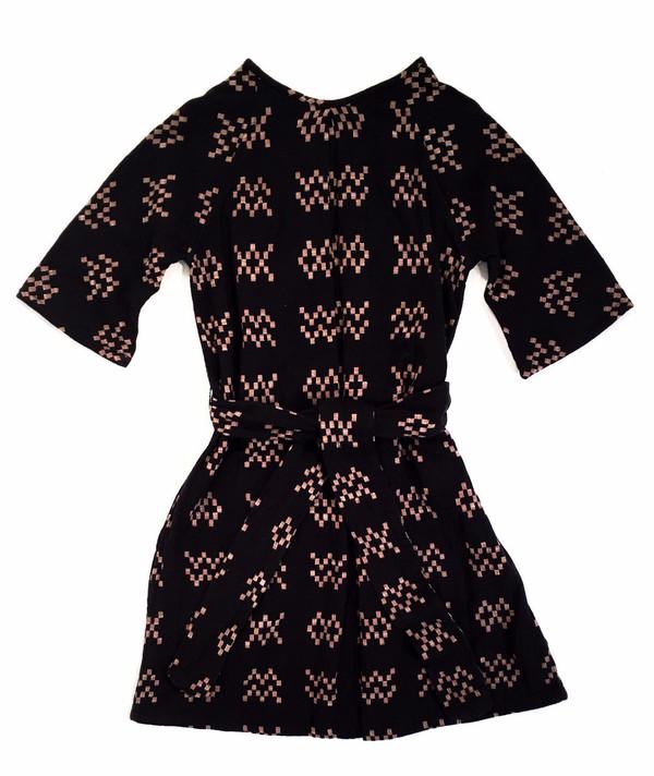 Ace & Jig Beatrice Dress / Black Sampler