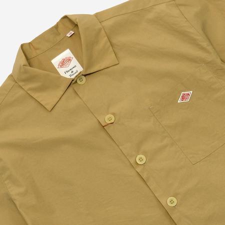 Danton Short-Sleeve Poplin Work Shirt - Tan