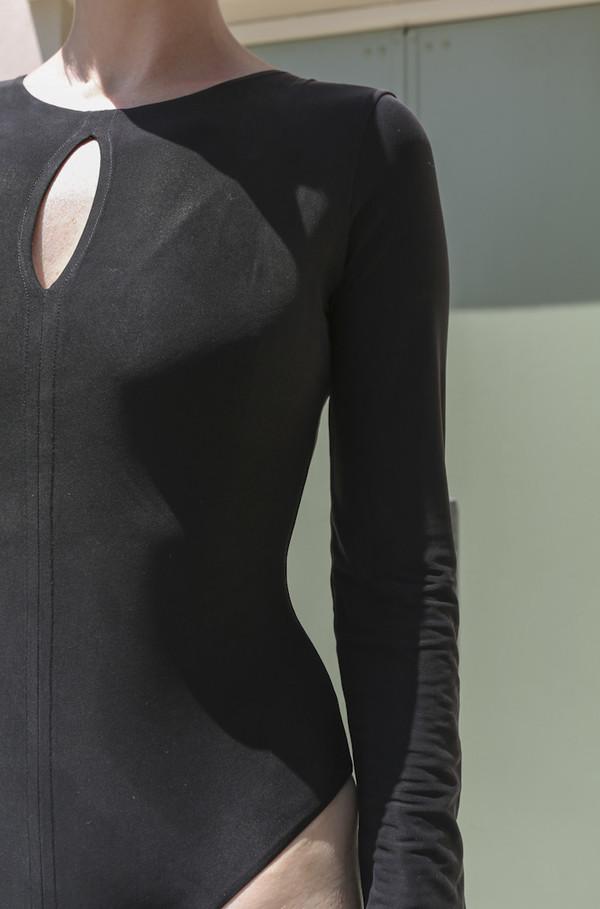 Shaina Mote Aja Bodysuit in Ink