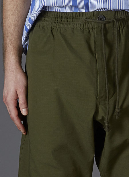 GREI. GUSSET EASY PANT - ARMY GREEN