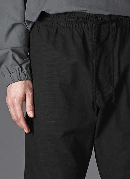 GREI. GUSSET EASY PANT - BLACK