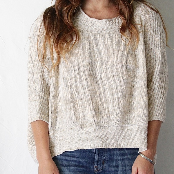 Unknown Soft Cotton Sweater