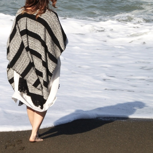 for her Beach Blanket Poncho