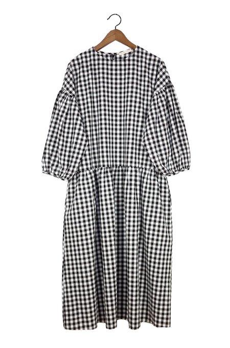 APRIL MEETS OCTOBER May Dress - Black Gingham