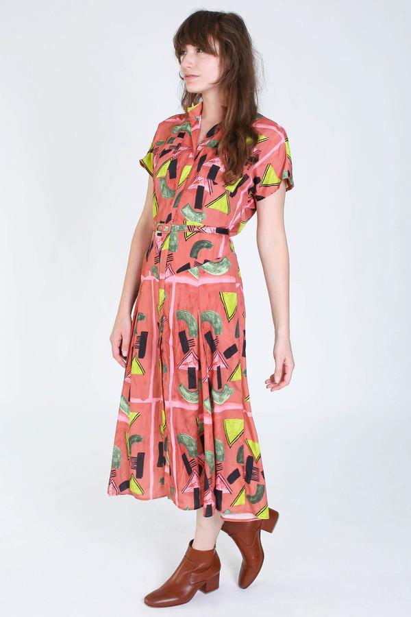 Rachel Comey Marlow dress in clay print