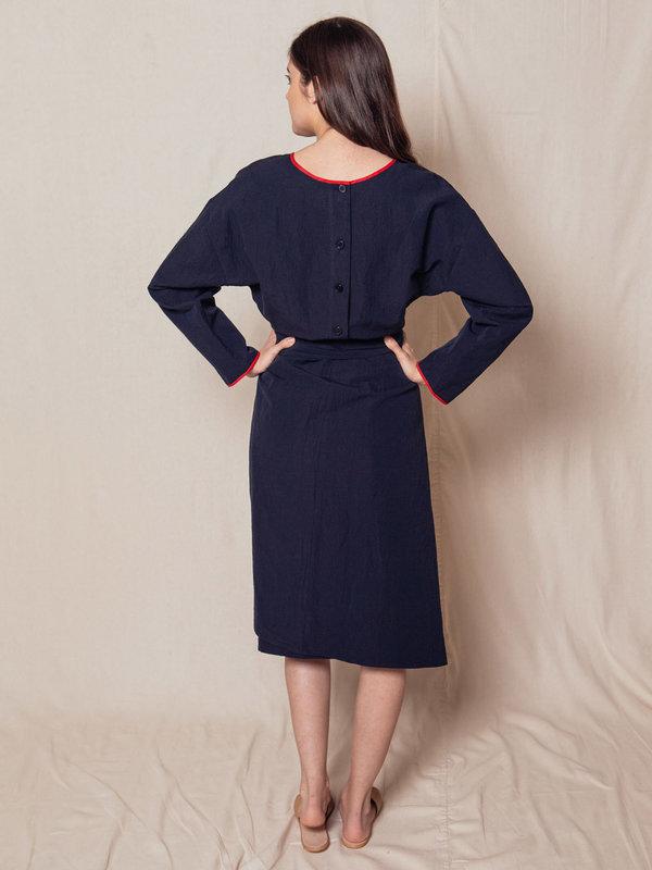Caron Callahan Paley Dress