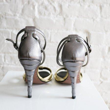 [Pre-loved]  Giuseppe Zanotti X Vionnet Metallic Sandals