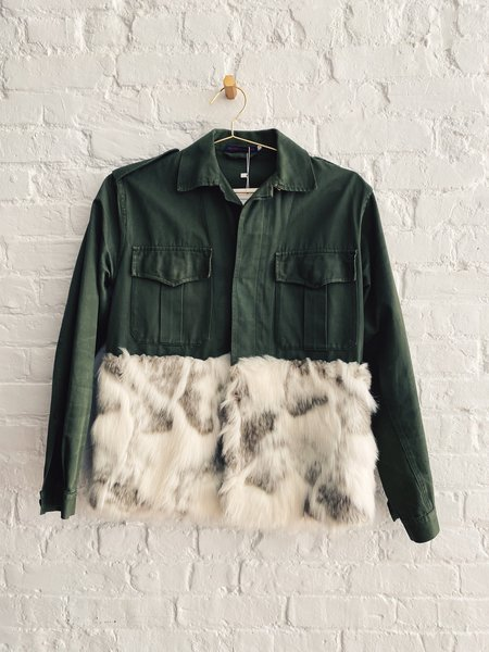 [Pre-loved] Harvey Faircloth Faux Fur Jacket