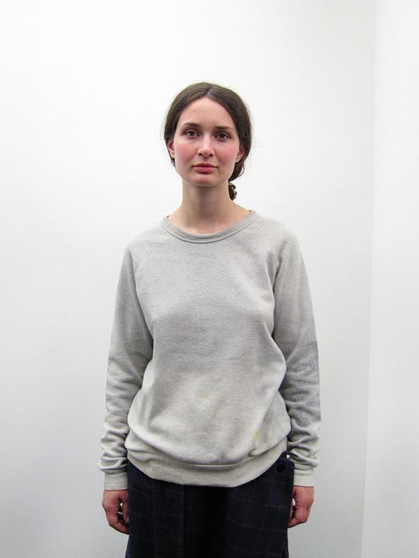 Audrey Louise Reynolds Sweatshirt, Grey with Yellow