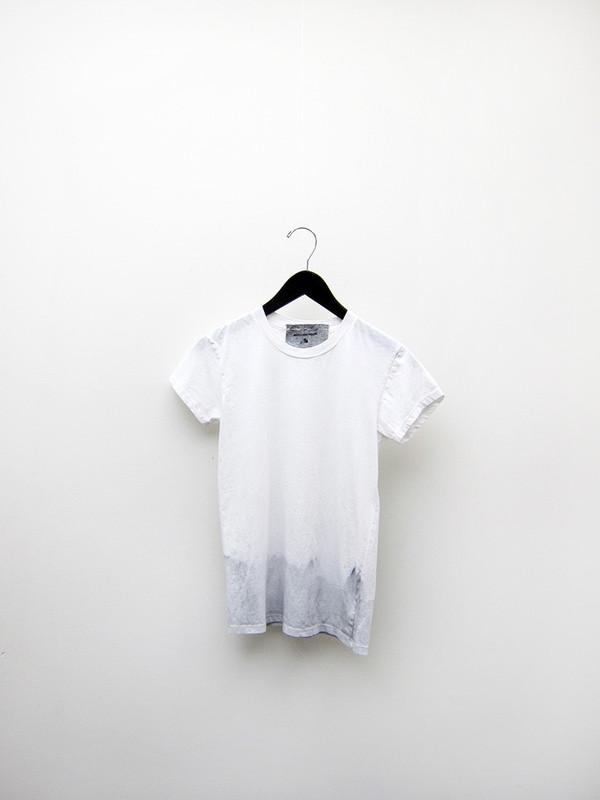Audrey Louise Reynolds T-Shirt, Bottom Dip Grey