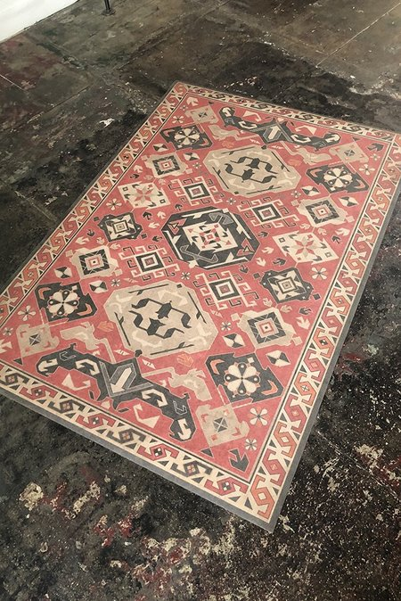 SPICHER AND COMPANY Floorcloth - ALL SPICE