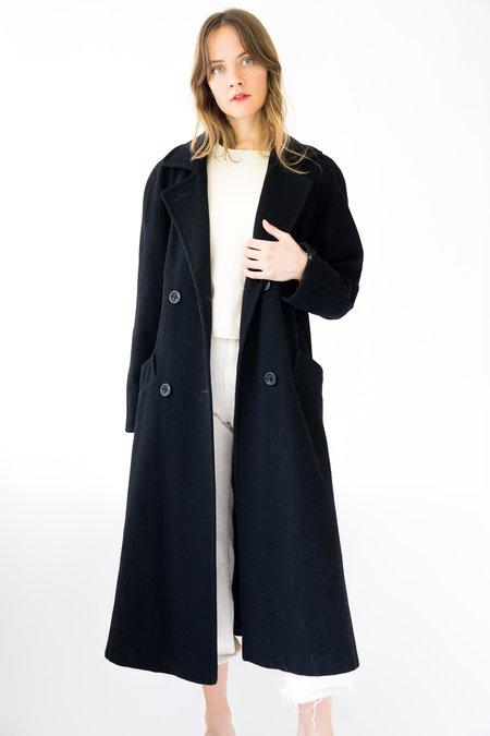 Vintage Gallery Wool peacoat - black