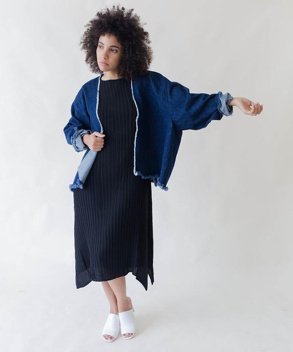Ashley Rowe Short Robe Coat