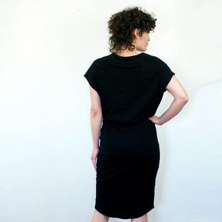 COKLUCH Vervet Dress - Black