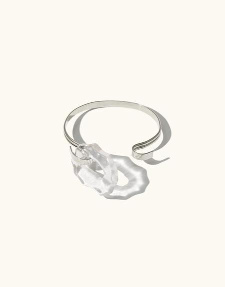 Cled Canyon Hook Bracelet Clear Air - Sterling Silver