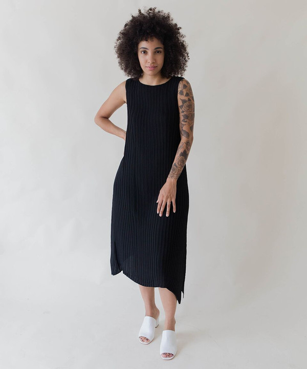 Objects Without Meaning Objects Without Black Knife Pleat Dress