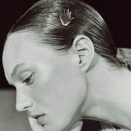 AGMES Dalí Hairclip - sterling silver