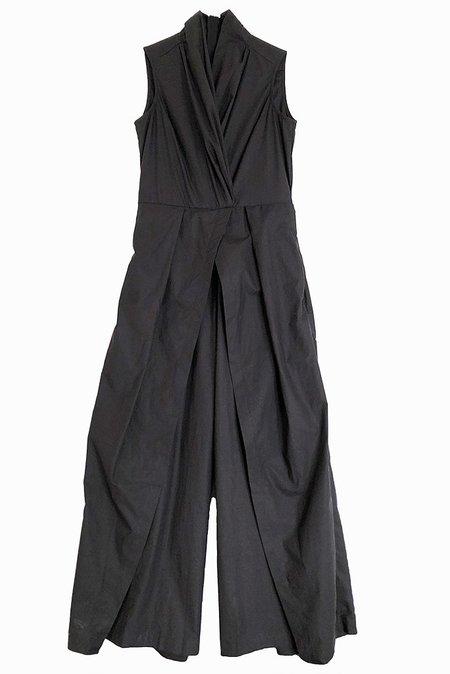 Rujuta Sheth Peony Jumpsuit - Black