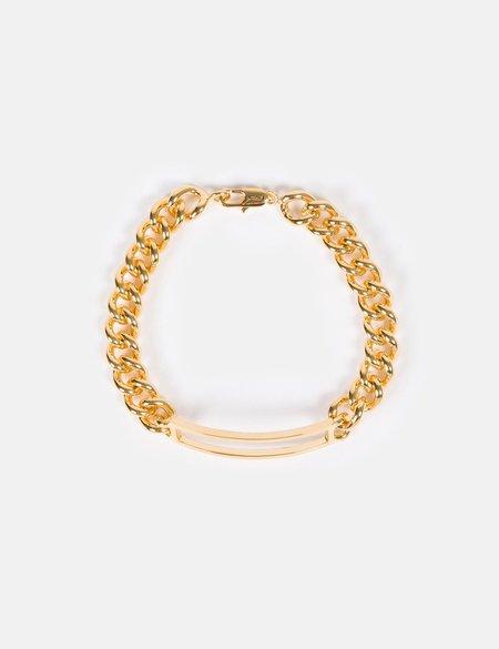 A.P.C. Leo Curb Bracelet - Gold