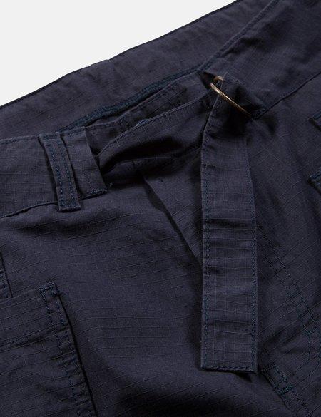 Bleu De Paname Chauffe Pant in Ripstop - Navy Blue