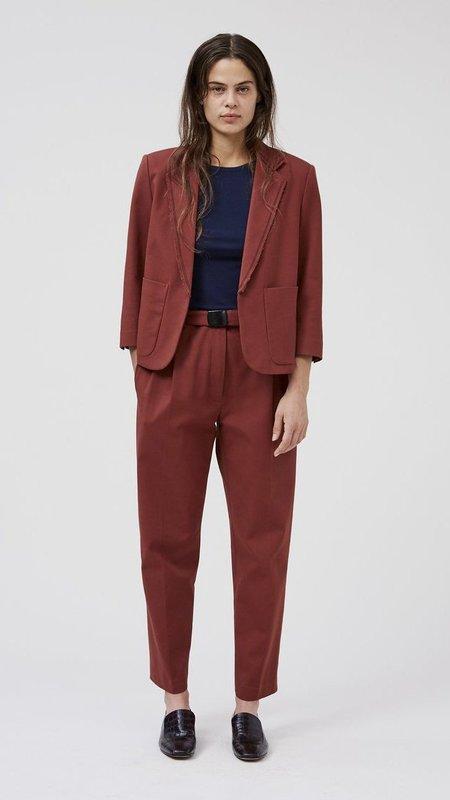 Rachel Comey Birgitt Cotton Bistretch Jacket - Cocoa