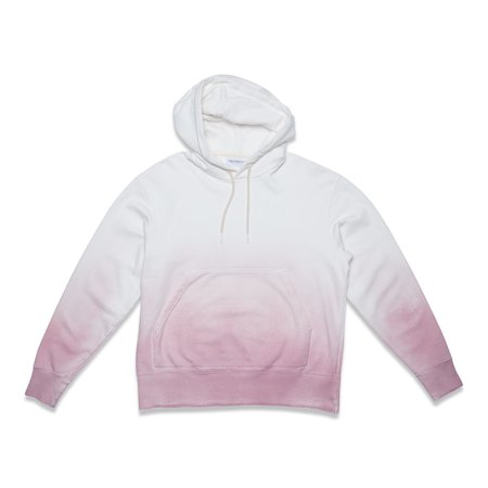 PRESIDENTS HOOD SWEATER P'S - ROSE SHADED