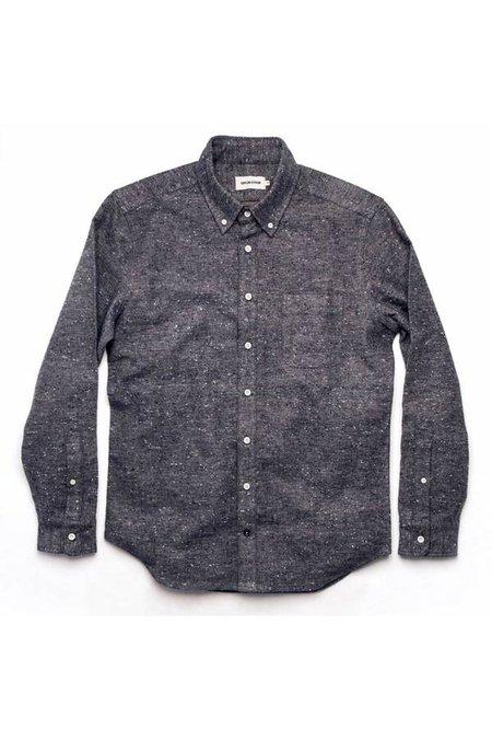 TAYLOR STITCH Sundown Shirt - Heather Grey