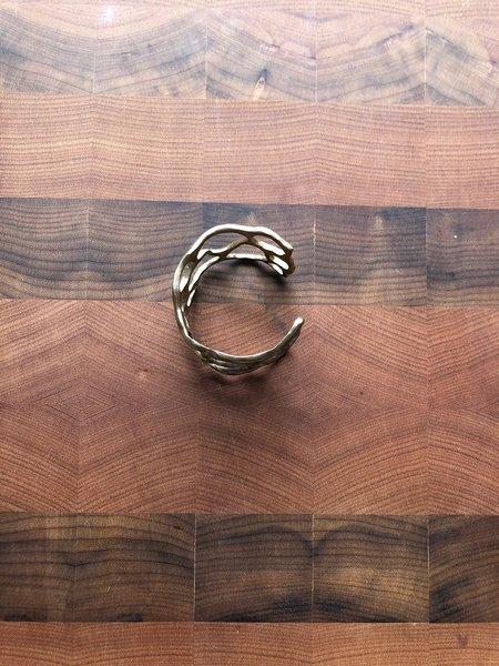 julie cohn fan coral cuff - bronze