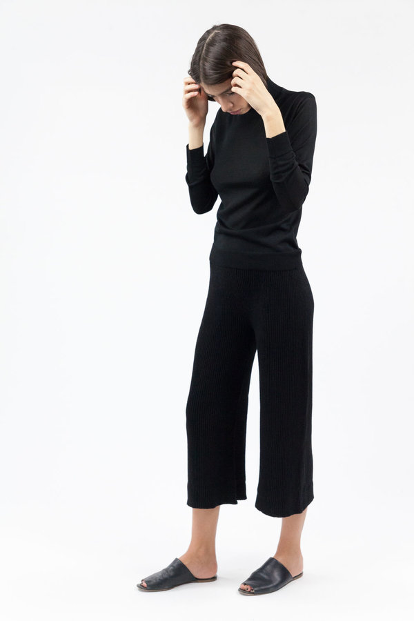 Objects without Meaning Sweater Rib Pant - Black
