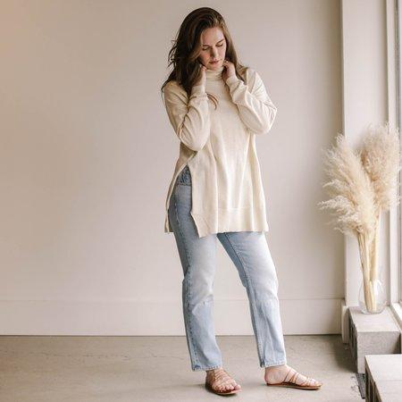 Kowtow Gallery Sweater - Marled Sand