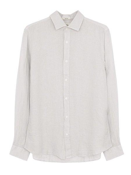 Hartford Sammy Linen Shirt - Cloud