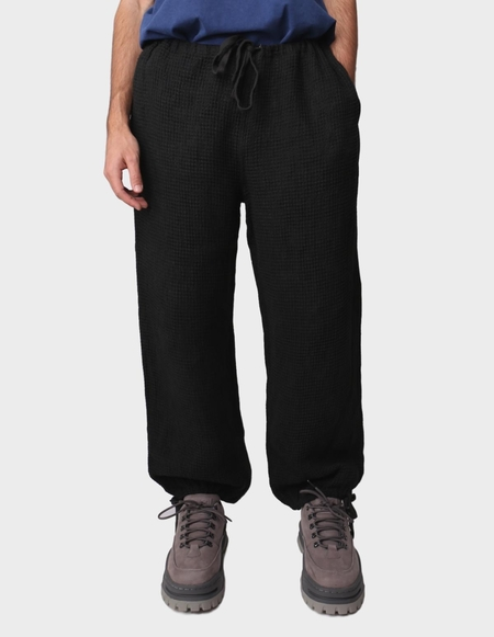 TS(S) Drawstring Wide Pants - Charcoal
