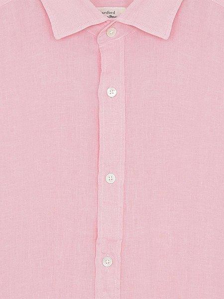 Hartford Sammy Linen Shirt - Pink