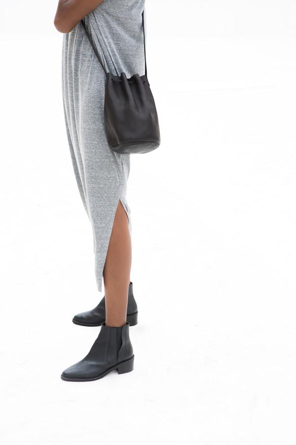 Baggu Leather Bucket Bag