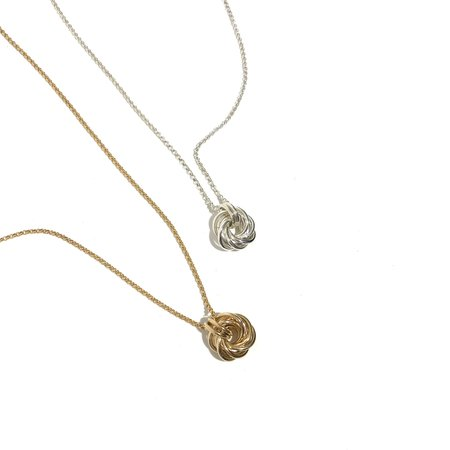 Mikel Grant Love Knot Necklace