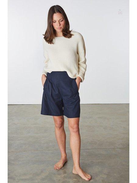 Ali Golden Fancy Shorts