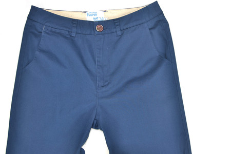 Supernat'l  Washed Twill Slouch Pant - BLUE