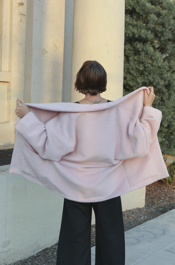Horses Atelier Patch Pocket Jacket in Pink