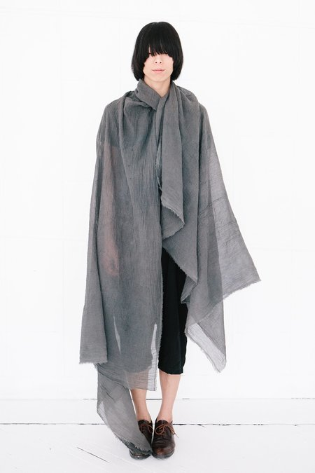 Scarf Shop fine organic cotton scarf - fog