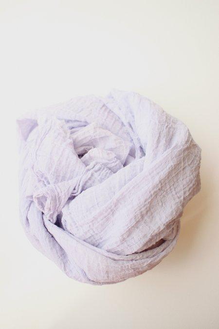 Scarf Shop fine organic cotton scarf - lilac