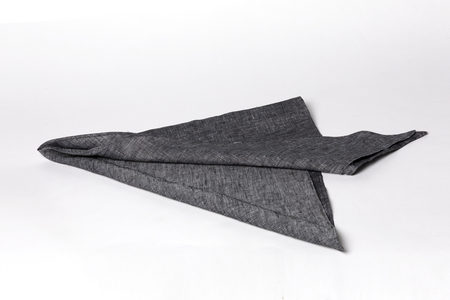 Clyde Triangle Scarf - Lapis/Black