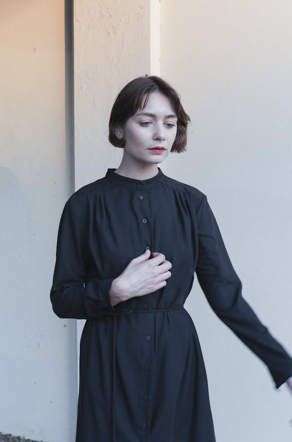 Wolcott : Takemoto Vashon Dress in Black
