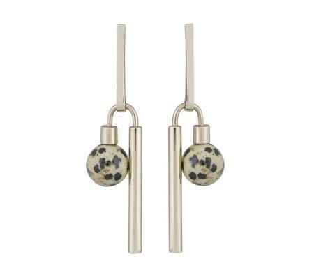 Quarry Adelaide Earrings - Hematite