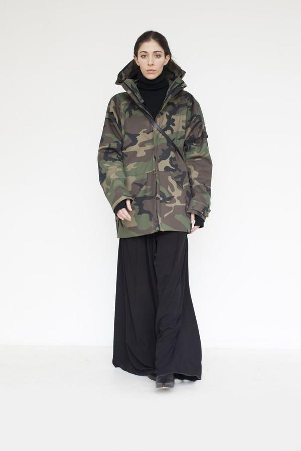 Cotton Camouflage Storm Coat