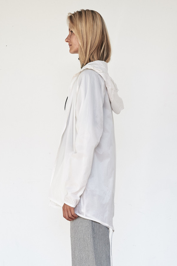 Brandblack Nylon Hooded Jacket
