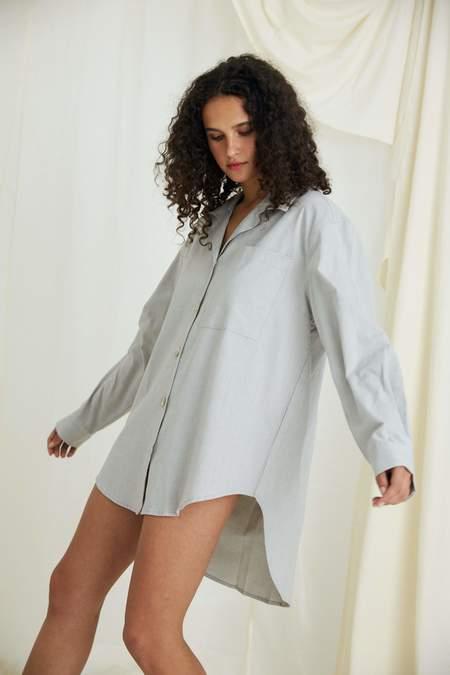 General Sleep Everyone Organic Cotton Shirt - Pebble