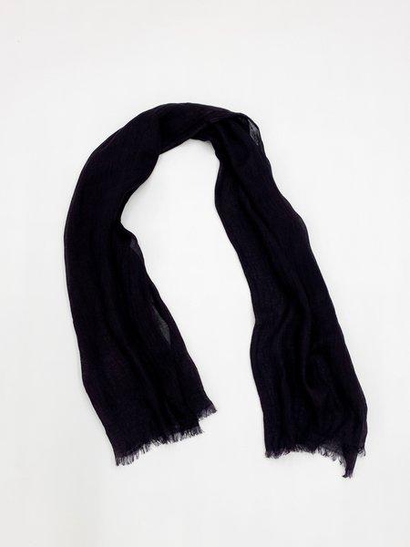 Variously resin scarf - black