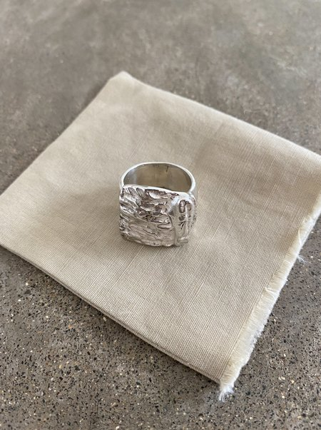 Lauren Manoogian Basalt Ring - Sterling Silver