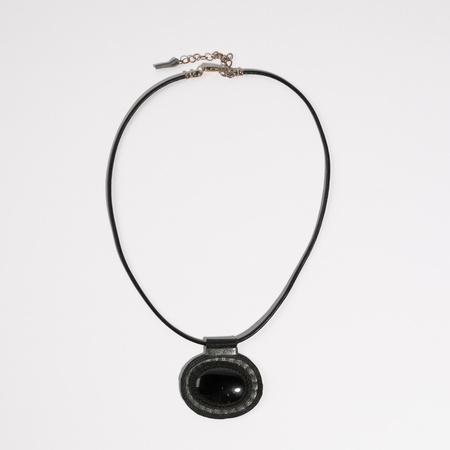 Robin Mollicone Carina Necklace - Onyx