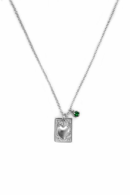 R by RANIA XEFTERI TAMATA COLLECTION NECKLACE - HEART